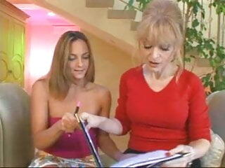 Old and Young Lesbians Nina Hartley and Lexi Love