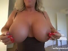 Busty Cougar Gets Fucked And Swallows Jizz